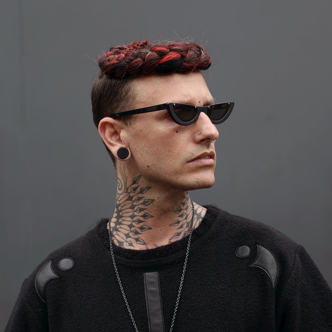 urban braided hairstyle for man | mens hairsyles | pinterest