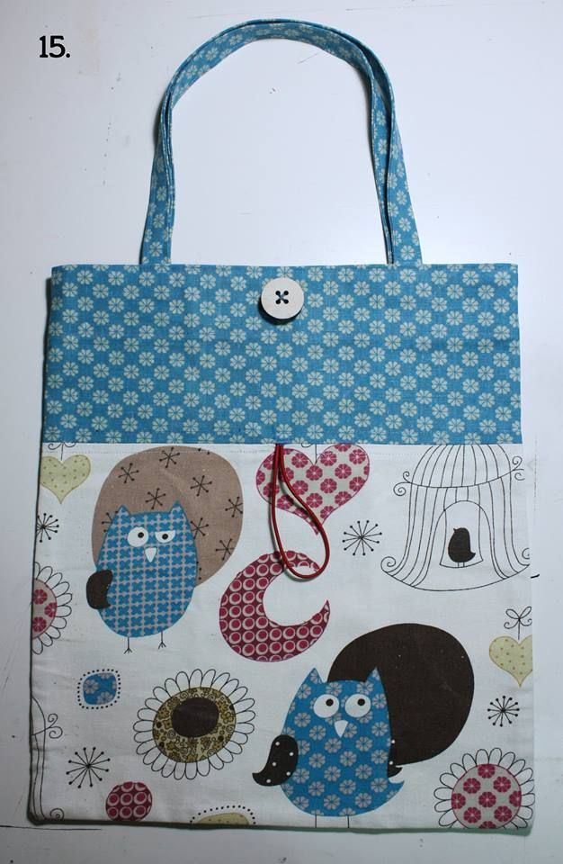 539a12d5ad Shopper ripiegabile da portare in borsa – Tutorial | Cucito Creativo |  Bloglovin' Borse Di
