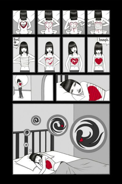 Tara McPherson | ART Illustrations Comics - Dream a Little Dream Dream A Little Dream, Page 2 of 3