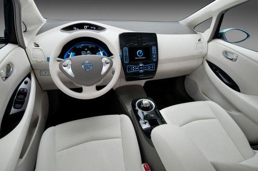 Nissan Leaf Interior Nice Ideas
