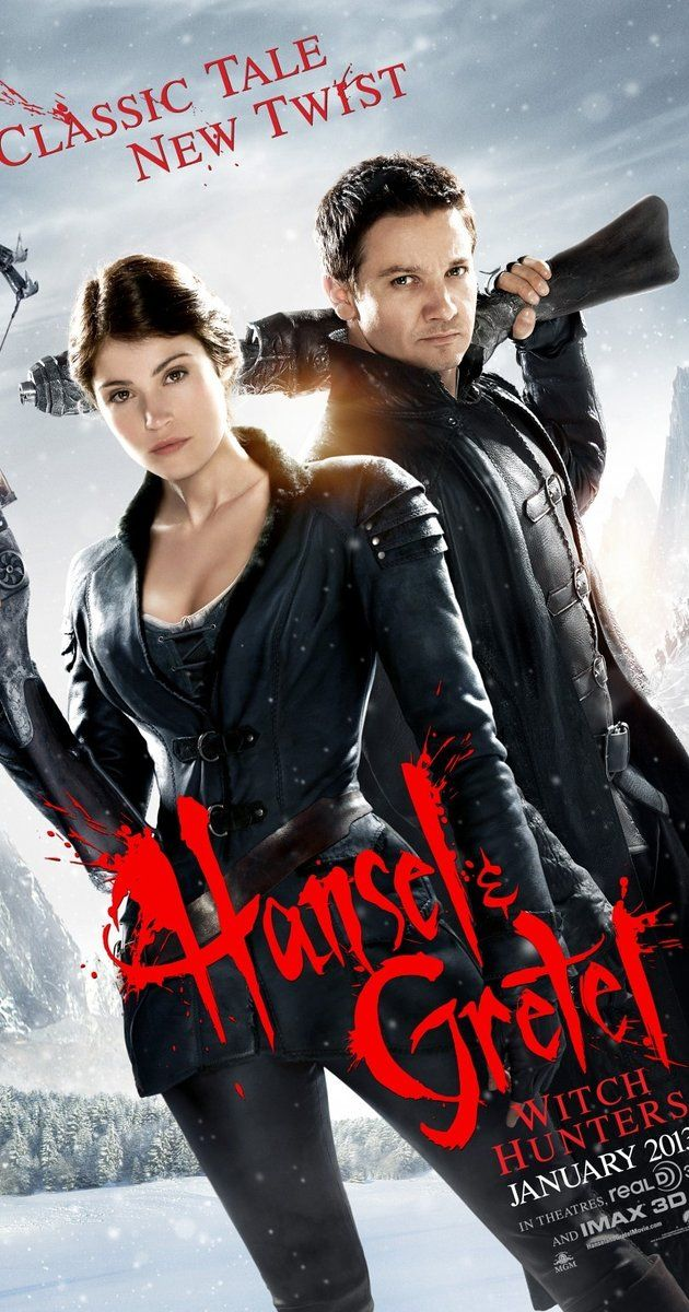 Directed by Tommy Wirkola. With Jeremy Renner, Gemma Arterton, Peter Stormare, Famke Janssen. Hansel & Gretel are bounty hunters who track and kill witches all over the world. As the fabled Blood Moon approaches, the siblings encounter a new form of evil that might hold a secret to their past.