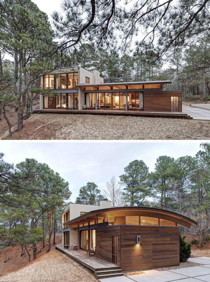 Photo of 18 moderne Häuser im Wald