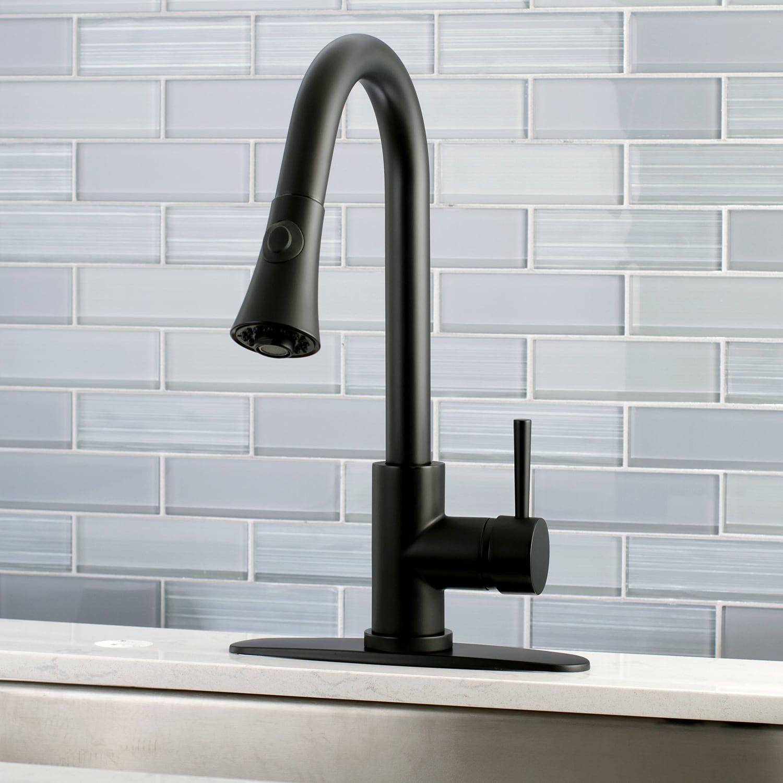 Black Modern Pull Down Kitchen Faucet Kitchen Faucet Modern