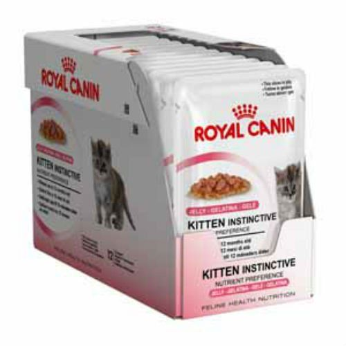 Royal Canin Instinctive Kitten Food Jelly Pouch 12 X 85g 850g Check Out The Image By Visiting The Link Catfood Kitten Food Cat Food Allergy Feline Health