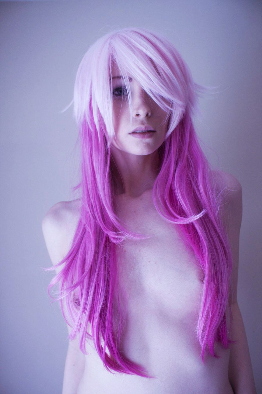 Girls with pink hair naked Anime Hair Pink Hair Beauty Hair