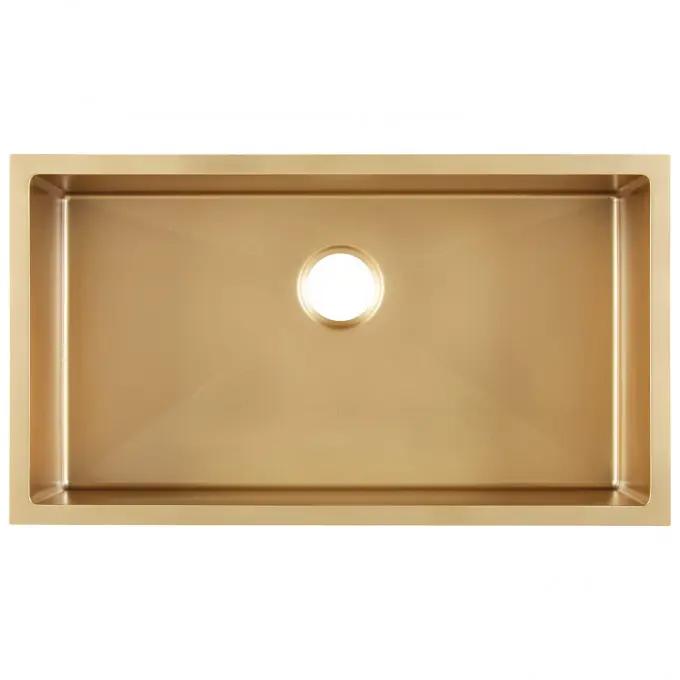 19+ Gold undermount kitchen sink ideas