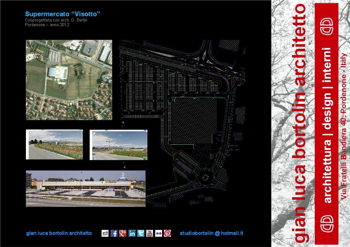 """Centro Commerciale - """"Ipermercato VISOTTO"""" - Pordenone (PN)"""