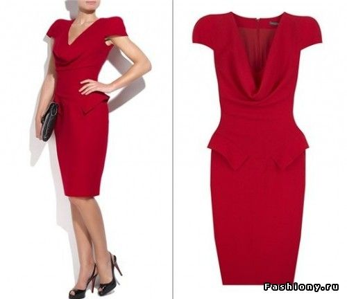 Толкование красное платье