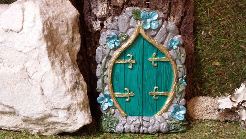 Fairy Door/ Gnome door Elf door-for fairy garden | Etsy
