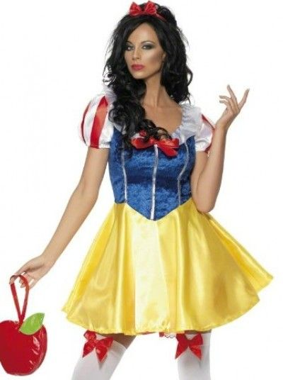 This fever fairytale costume will put snow white to shame because - princess halloween costume ideas