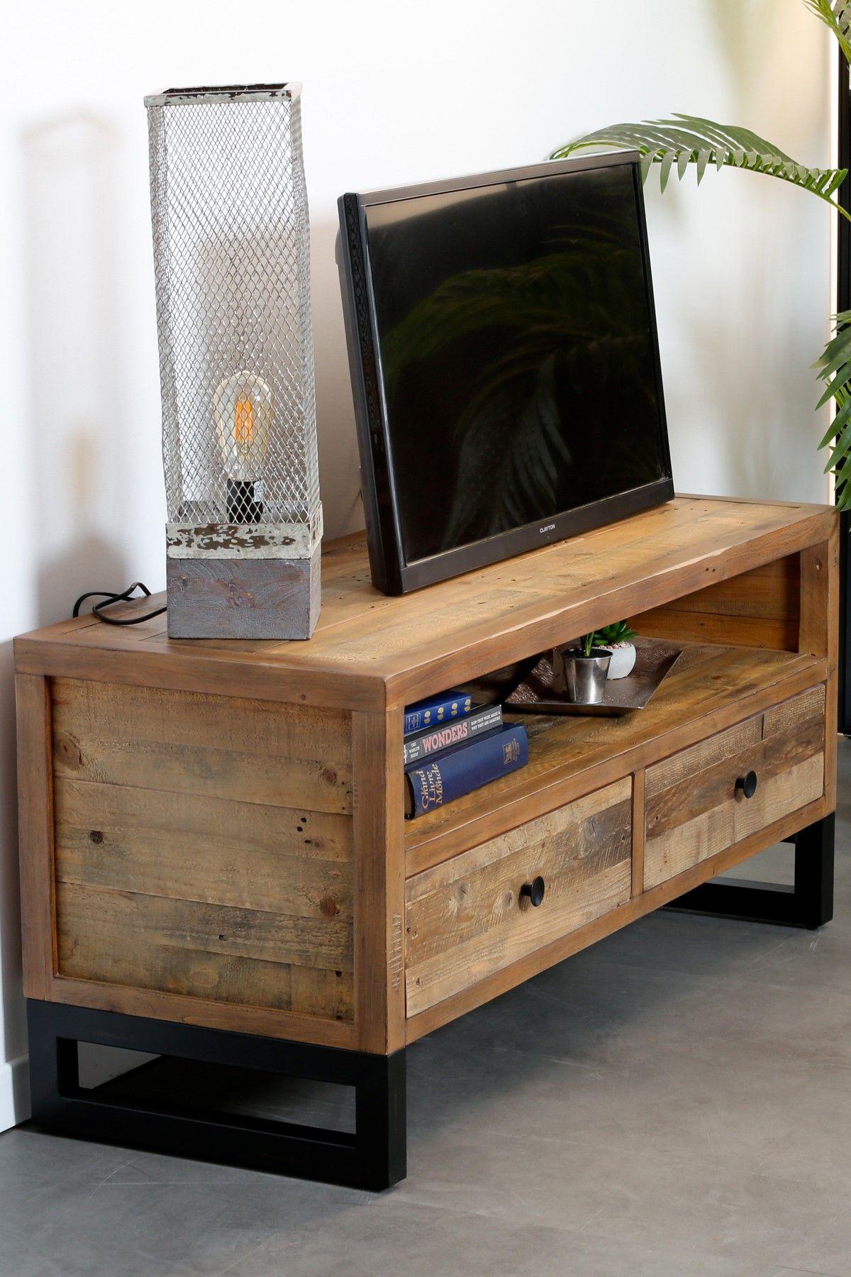 epingle sur meubles tv
