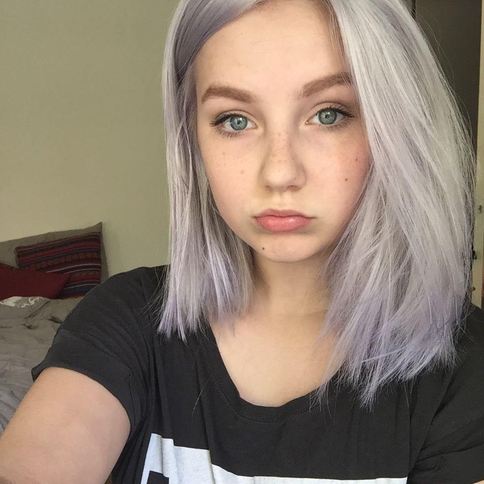 platinum grey hair - Szukaj w Google | hair | Pinterest | Gray ...