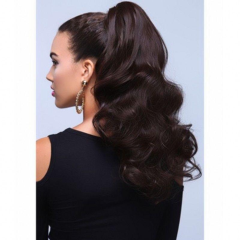 indian virgin hair body wave drawstring ponytail human hair ponytail
