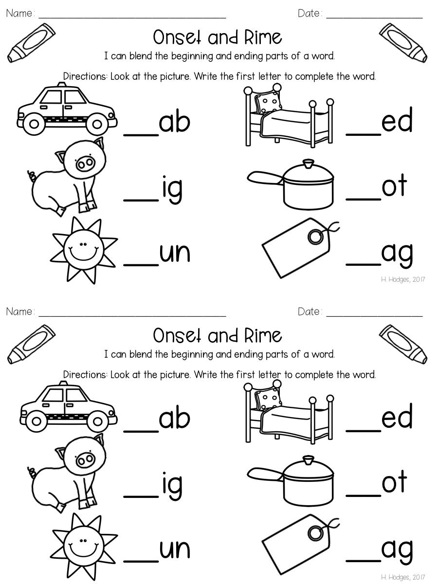 Kindergarten Foundational Skills Small Group Mini Lessons