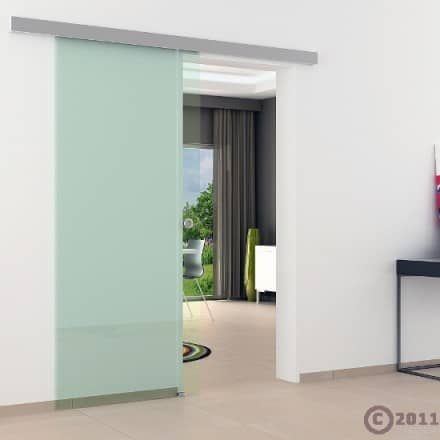 Dorma Agile 50 Glasschiebetur Klarglas 775 X 2050 X 8 Mm Mein