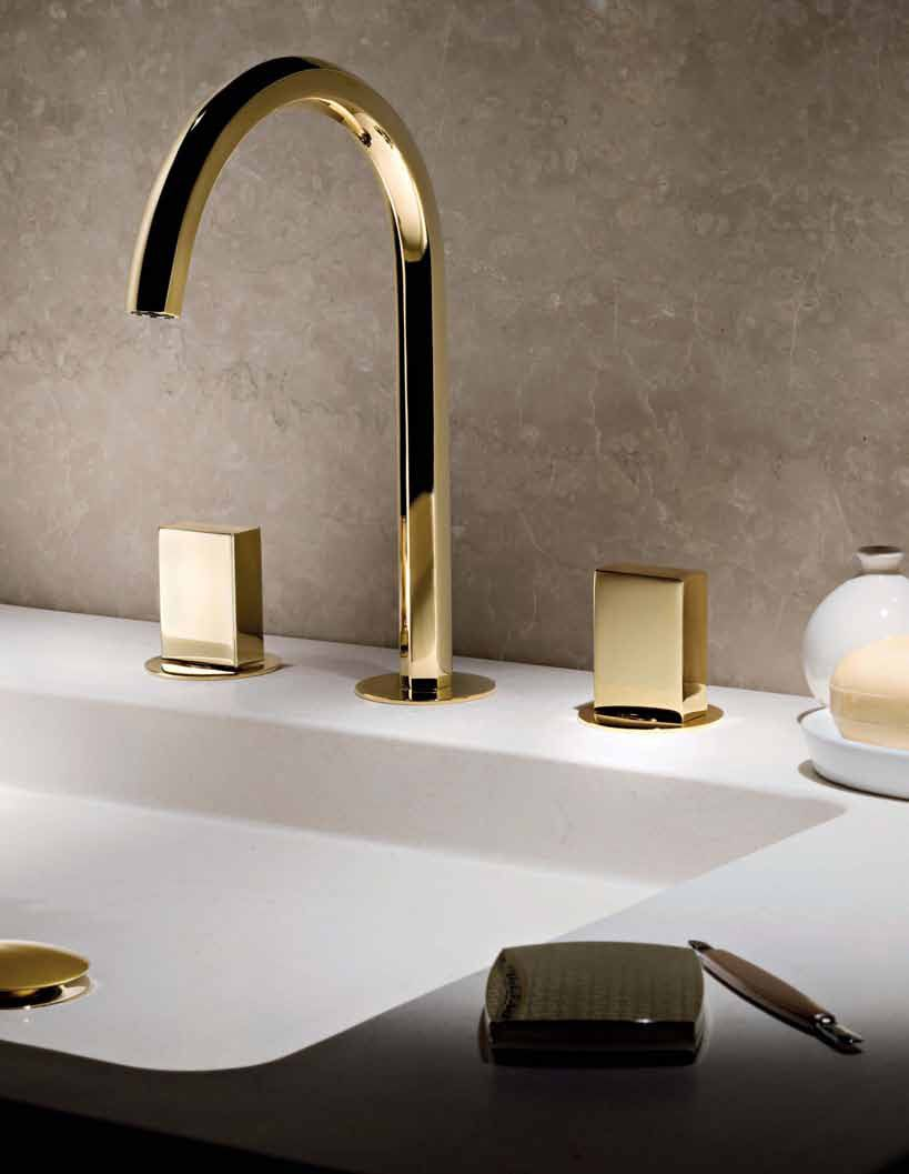 gold tone bathroom sink faucets. Robinetterie OR  Fantini Rubinetti Gold Bathroom Faucet 3 hole goldtone faucet want www porcelanosa com Beauties