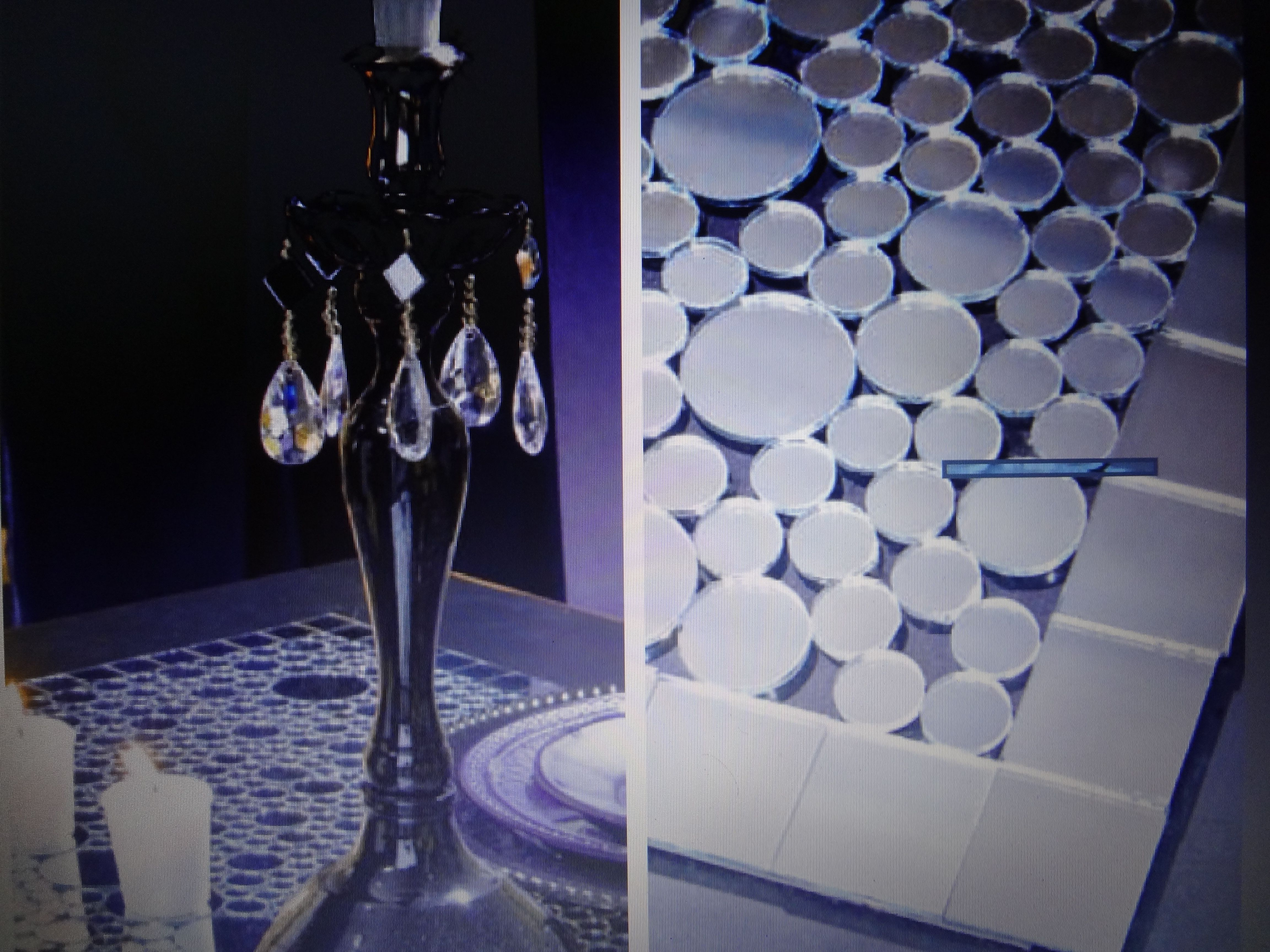 Diy Mirror Tiles Hobby Lobby Project Table Runner