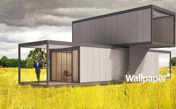 Mendes da rocha fuksas  pjar architects design pre fab homes for revolution precrafted also rh pinterest
