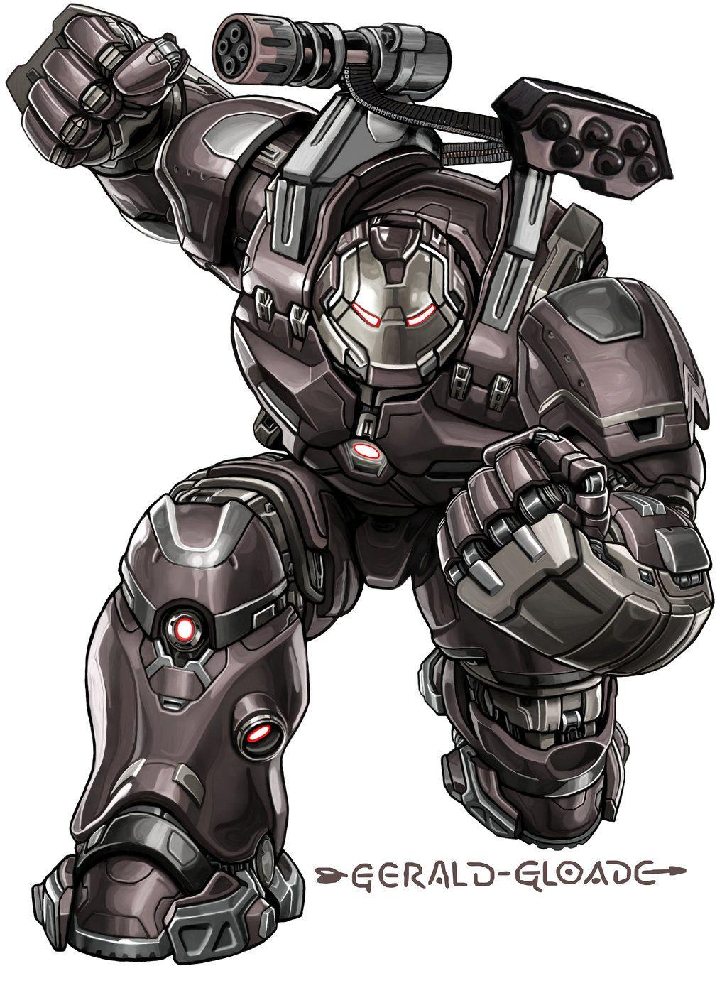 War Machine Hulk Buster KEJG by gloade.deviantart.com on @DeviantArt ...
