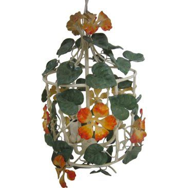 Check out this item at One Kings Lane! Tole Birdcage Chandelier