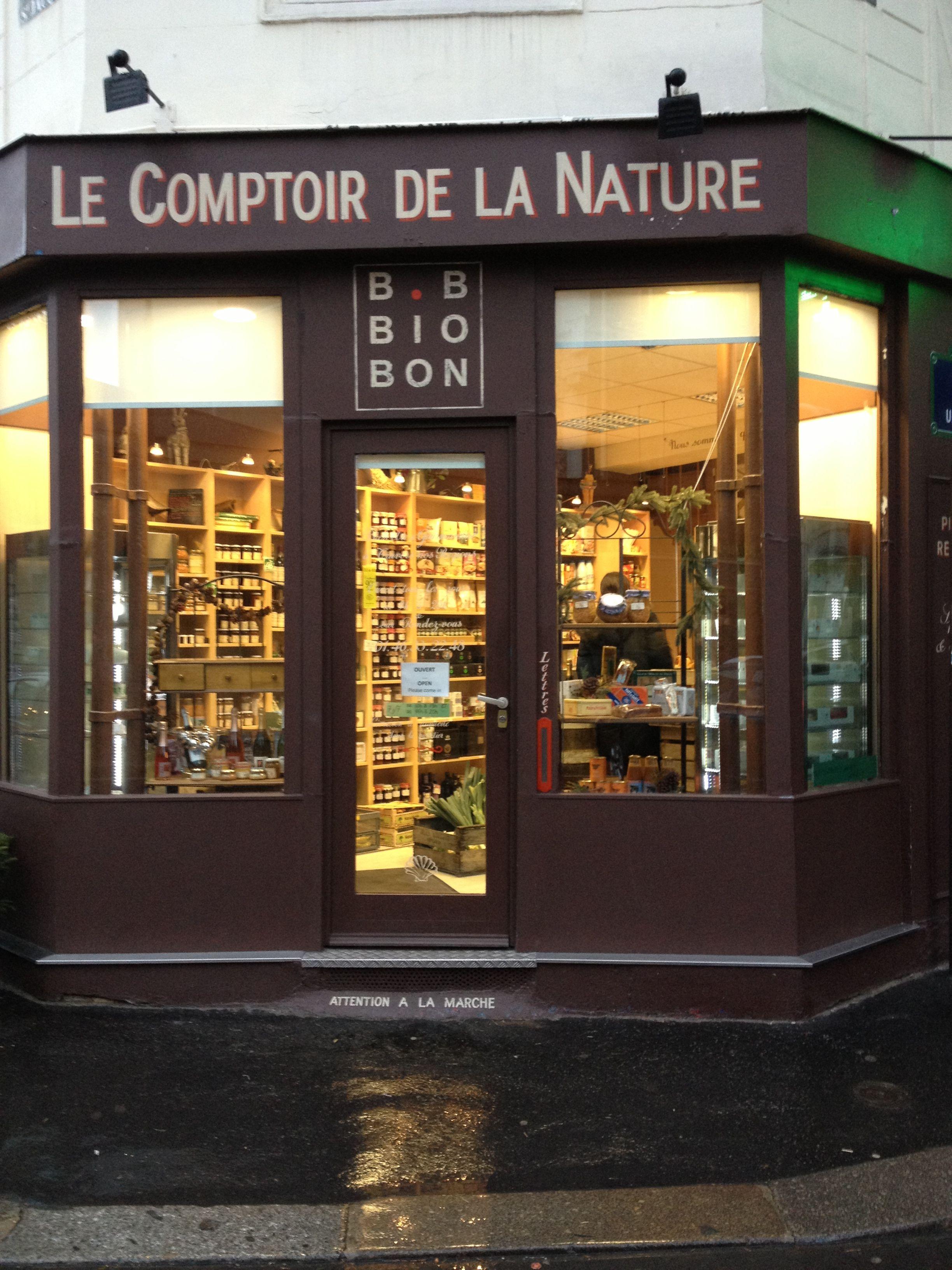 Bio Bon Comptoir De La Nature Organic And Farm Produce Shop Near Port Royal And Gardens Of Luxembourg Paris Parijs