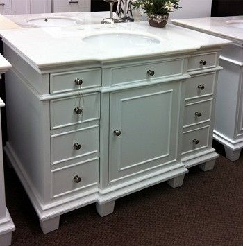 42jade White Bathroom Vanity Flooring White Bathroom White