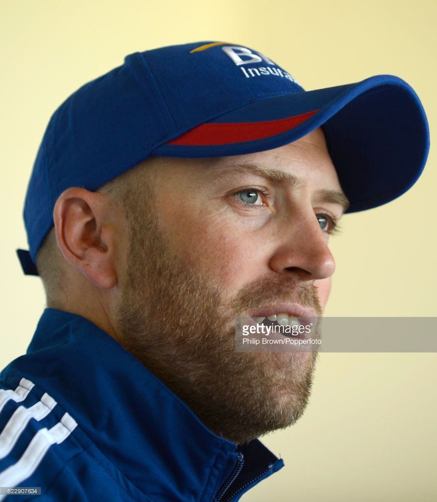 England Cricketer Matt Prior Talks To The Media During A Press Cricket England Talk