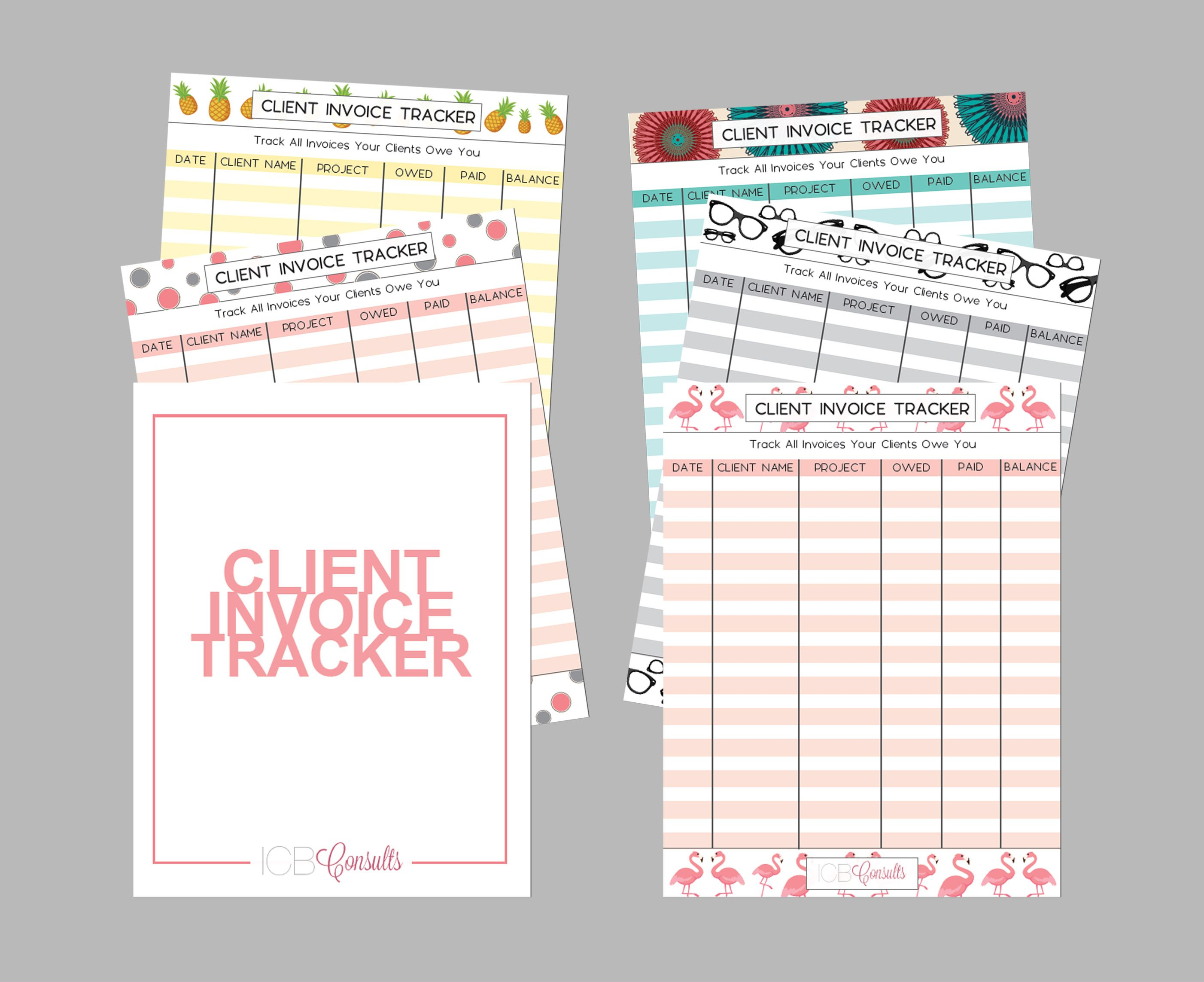 Client Invoice Tracker Focuses On Helping You Maintain