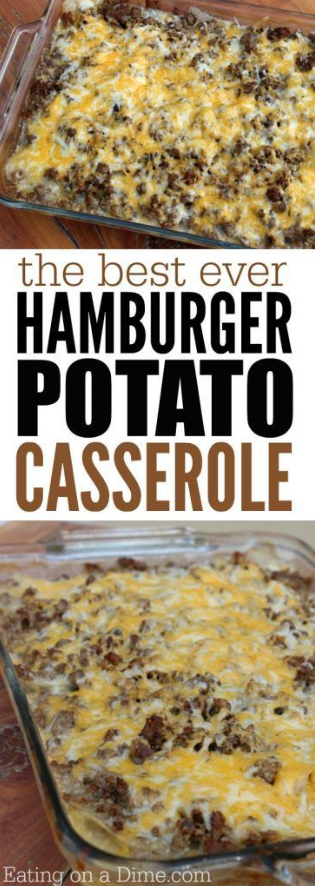 How to make hamburger casserole images