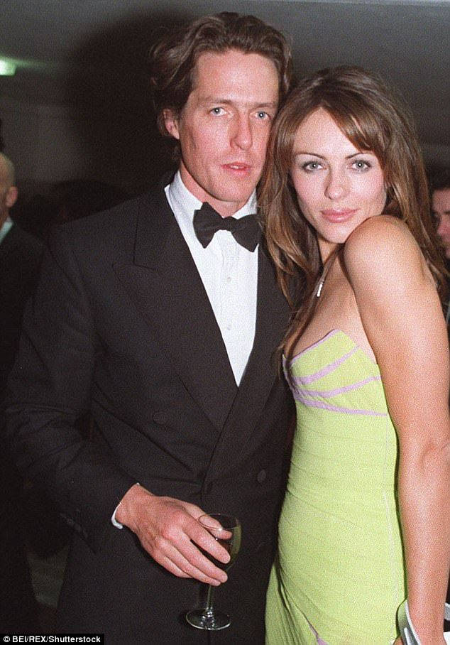 Hugh Grant Reflects On Romance With Elizabeth Hurley Elizabeth Hurley Hugh Grant Liz Hurley 90s Party Outfit