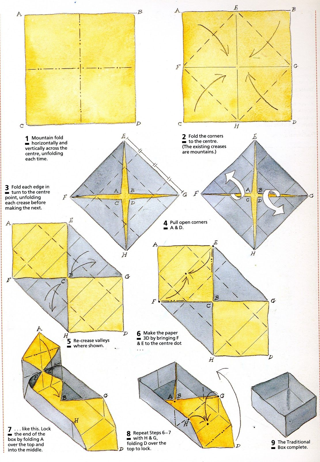 how to make a origami rectangle box instructions folding origami boxby step easy origami flower instructions origami heart origami heart box instructions  [ 1111 x 1600 Pixel ]