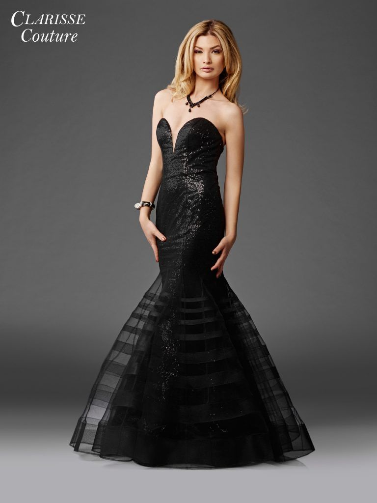 Black rose elegant prom dress prom pinterest prom