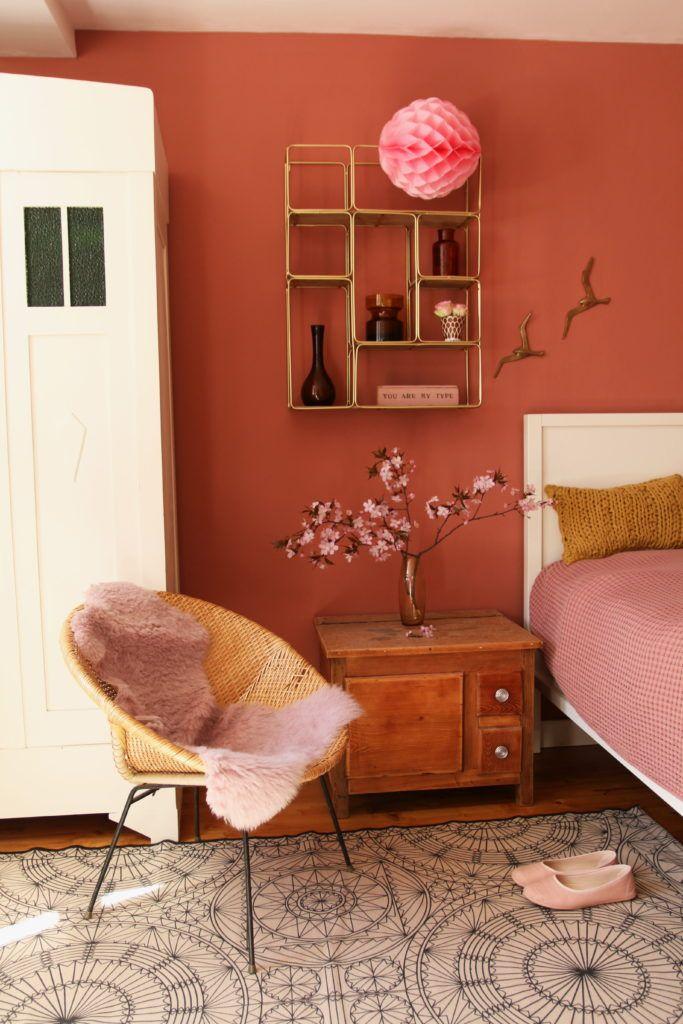 Rostpastell – die neue Farbe im Schlafzimmer | My home is my ...