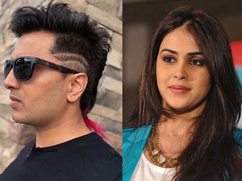 Riteish Deshmukh Surprises Wifey Genelia Deshmukh With A New Hair Images Hair Styles Model Hair