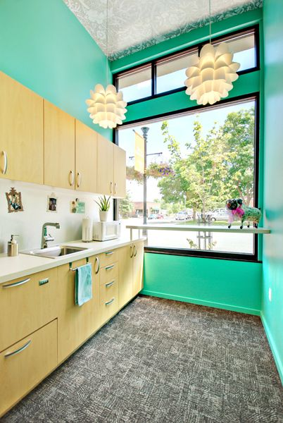 Kitchen at Mint Dental Studio, Bozeman, MT. | Mint Dental Studio ...