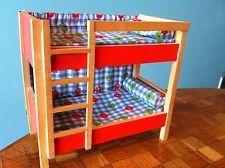 Etagenbett Puppenhaus : Etagenbett stockbett bett bodo hennig puppenstube puppenhaus
