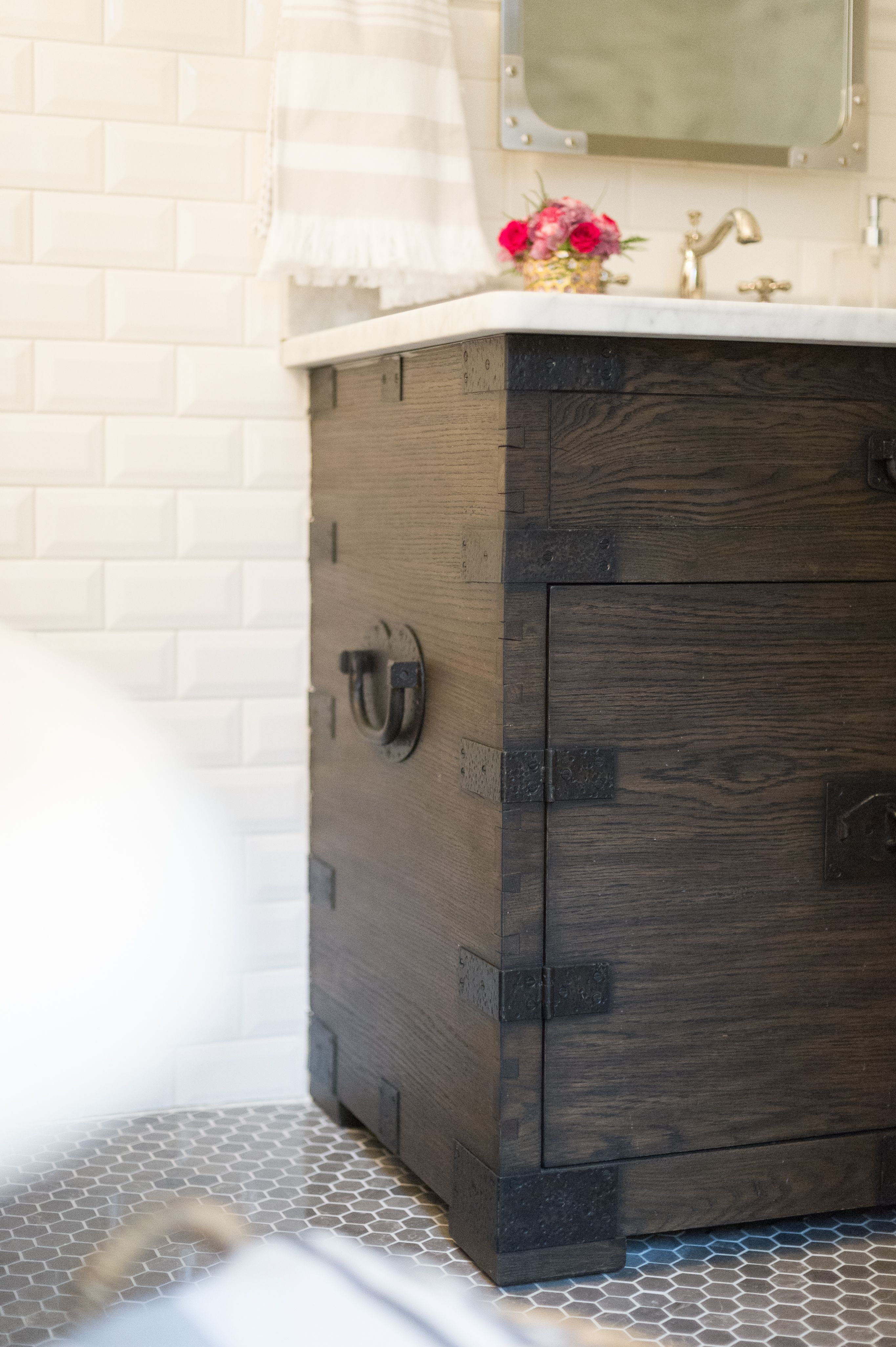 Modern French Country Ensuite Renovation Reveal | Modern ...