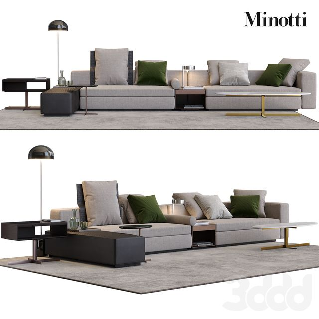 Minotti Yang Idee Per La Sala In 2019 Sofa Furniture Sofa