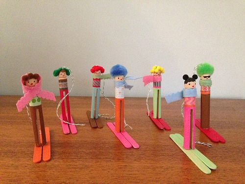 Thanksgiving is one of everybody's favorit. 16 Ski Ideas Winter Crafts Winter Preschool Olympic Crafts