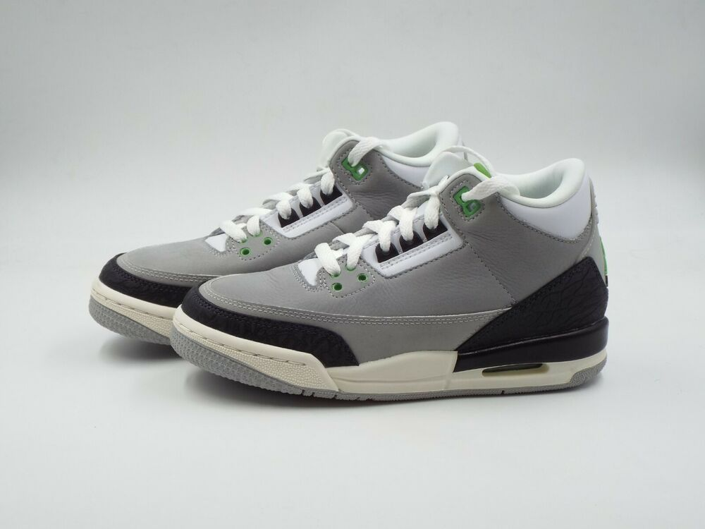 bd0941a0ec0 eBay #Sponsored Kids Nike Air Jordan 3 Retro (GS) Size 4Y (398614 006) Grey