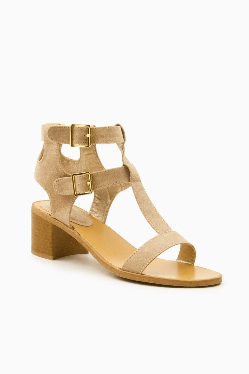 ShopSosie Style : Jacobs Sandals in Nude
