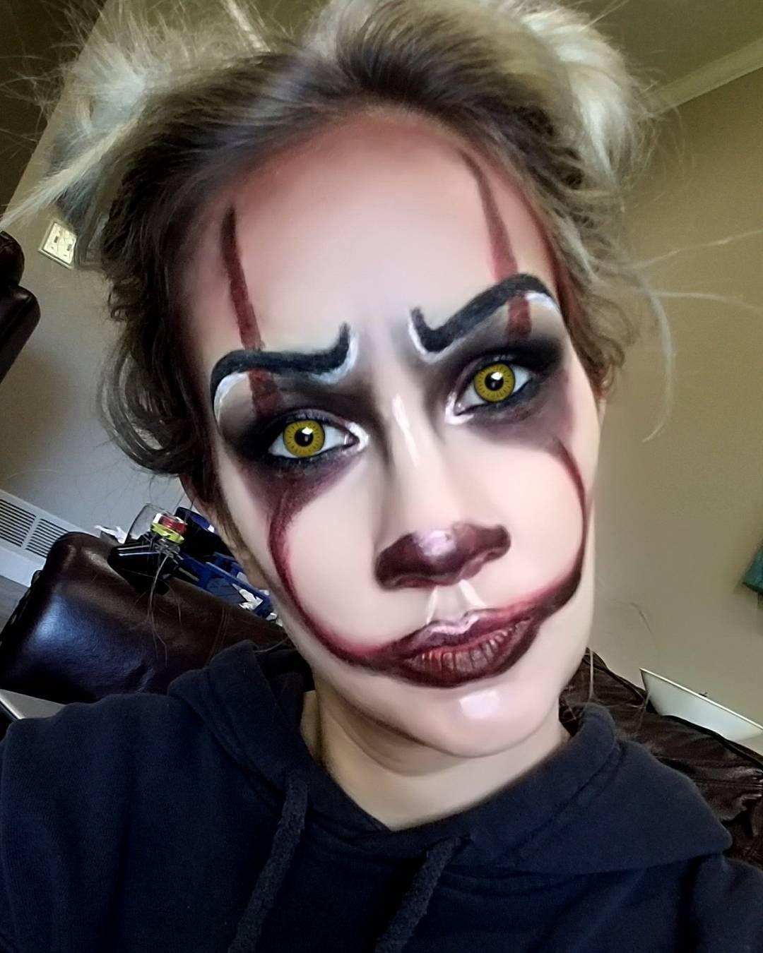 if you need halloween makeup done this year let me know pm me for pricing