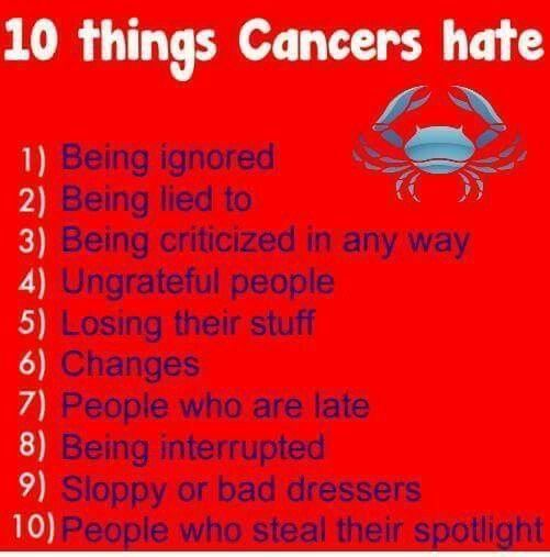 Pin by Ivory Queen on #☆sign~♋ | Cancer zodiac facts