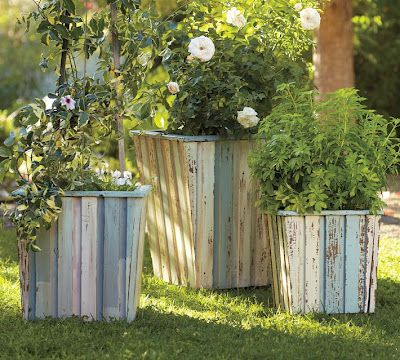 The Kim Six Fix Pottery Barn Reclaimed Wood Planter Tutorial