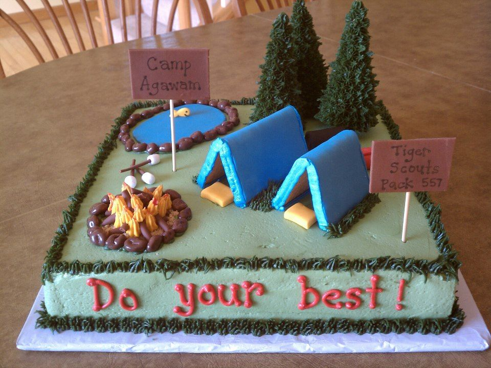 Cake Decorating Ideas For Boy Scouts : Simple+Boy+Scout+Cakes Cub Scout Cakes POTATOES ...