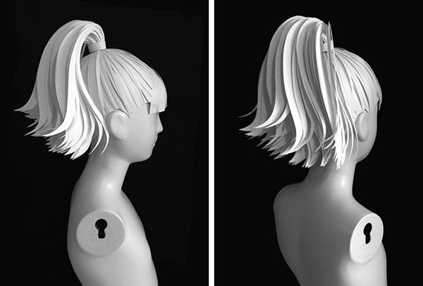 Paper Wigs for J.Crew on Behance | Paper | Wigs, Foam wigs ...