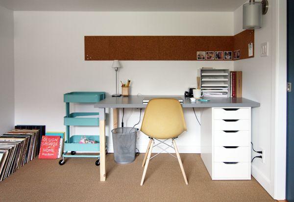 ikea linnmon alex table - Google Search interior design - best of world map glass desk ikea