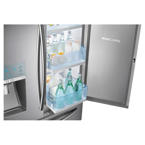 Samsung 4 Door French Door Food Showcase Refrigerator Stainless