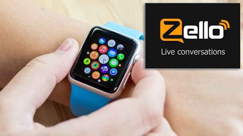 "Zello ""Walkie Talkie app"" Was Launched For Apple Watch"
