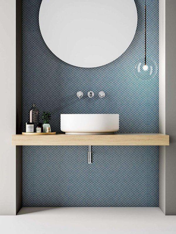 Photo of blaue quellen badezimmer modernes badezimmer waschbecken von navir